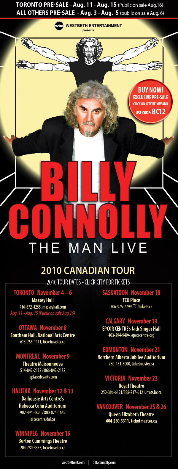 Billy Connolly DVD